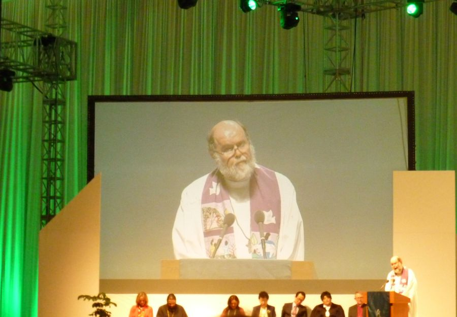 Father Michale Lapsley WCC