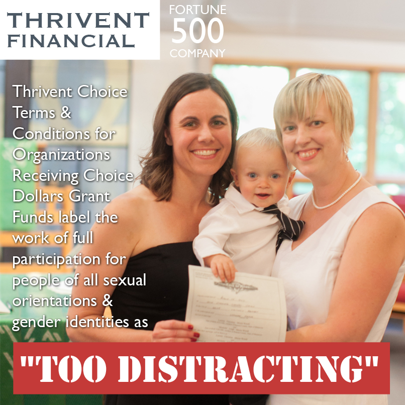 thrivent distracting