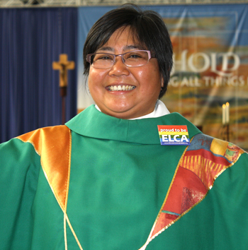 The Rev. Tita Valeriano