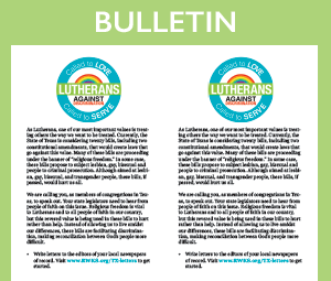 Bulletin Insert