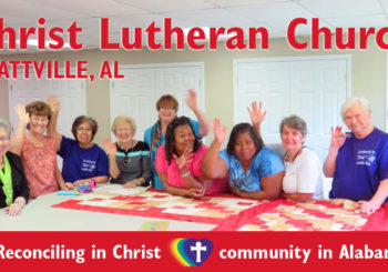 First RIC community in Alabama: Christ Lutheran Church (Prattville, AL)